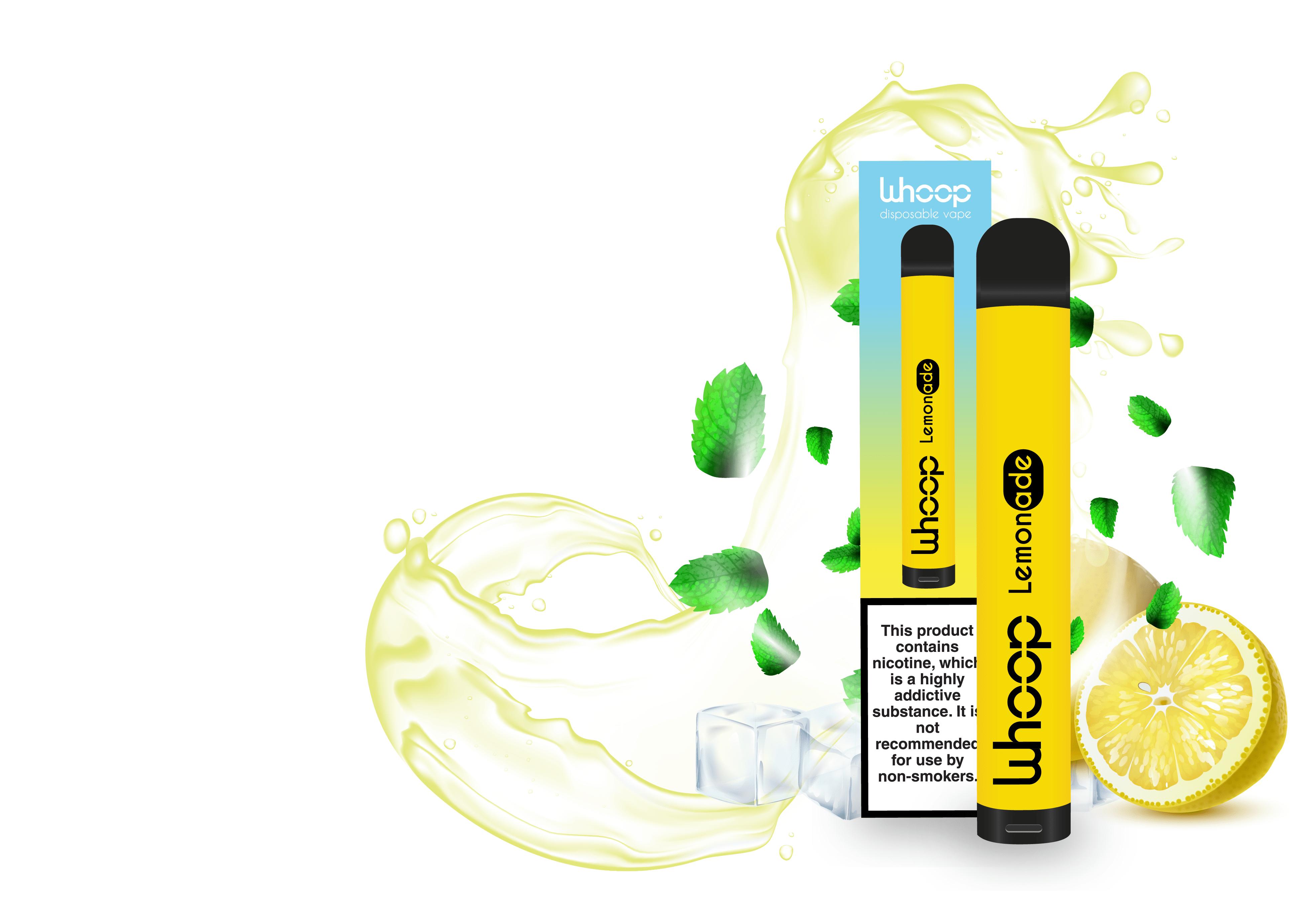 Disposable e-cig Whoop lemonade
