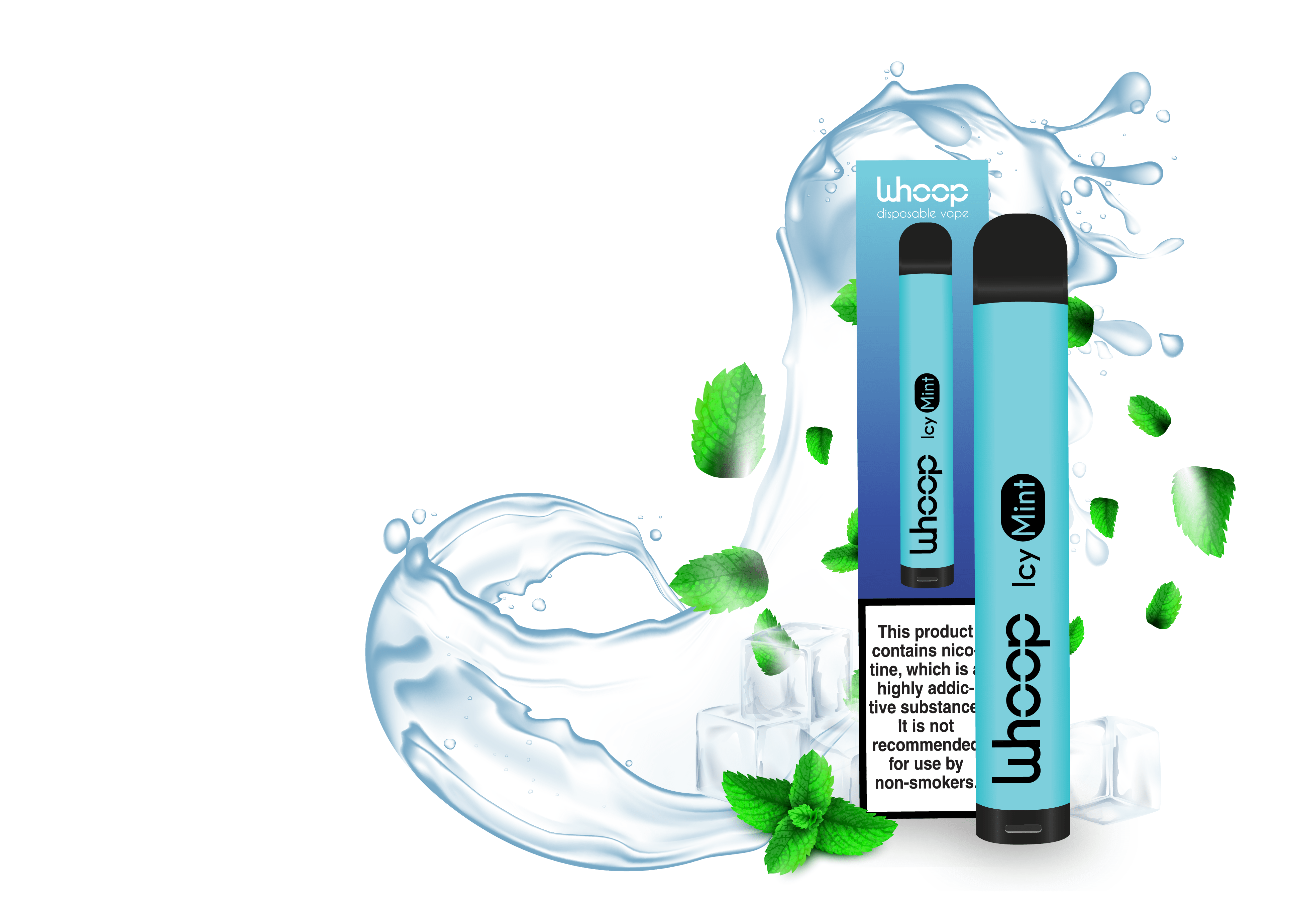 Disposable e-cig Whoop Icy Mint
